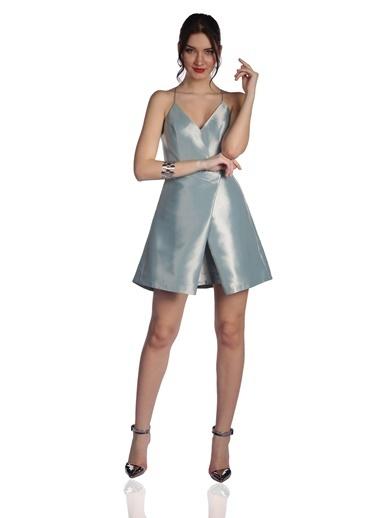 6ixty8ight Mini Abiye Elbise Yeşil